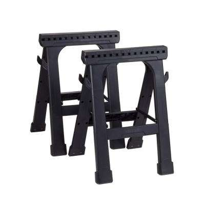 23 in. Folding Sawhorse (2-Pack)