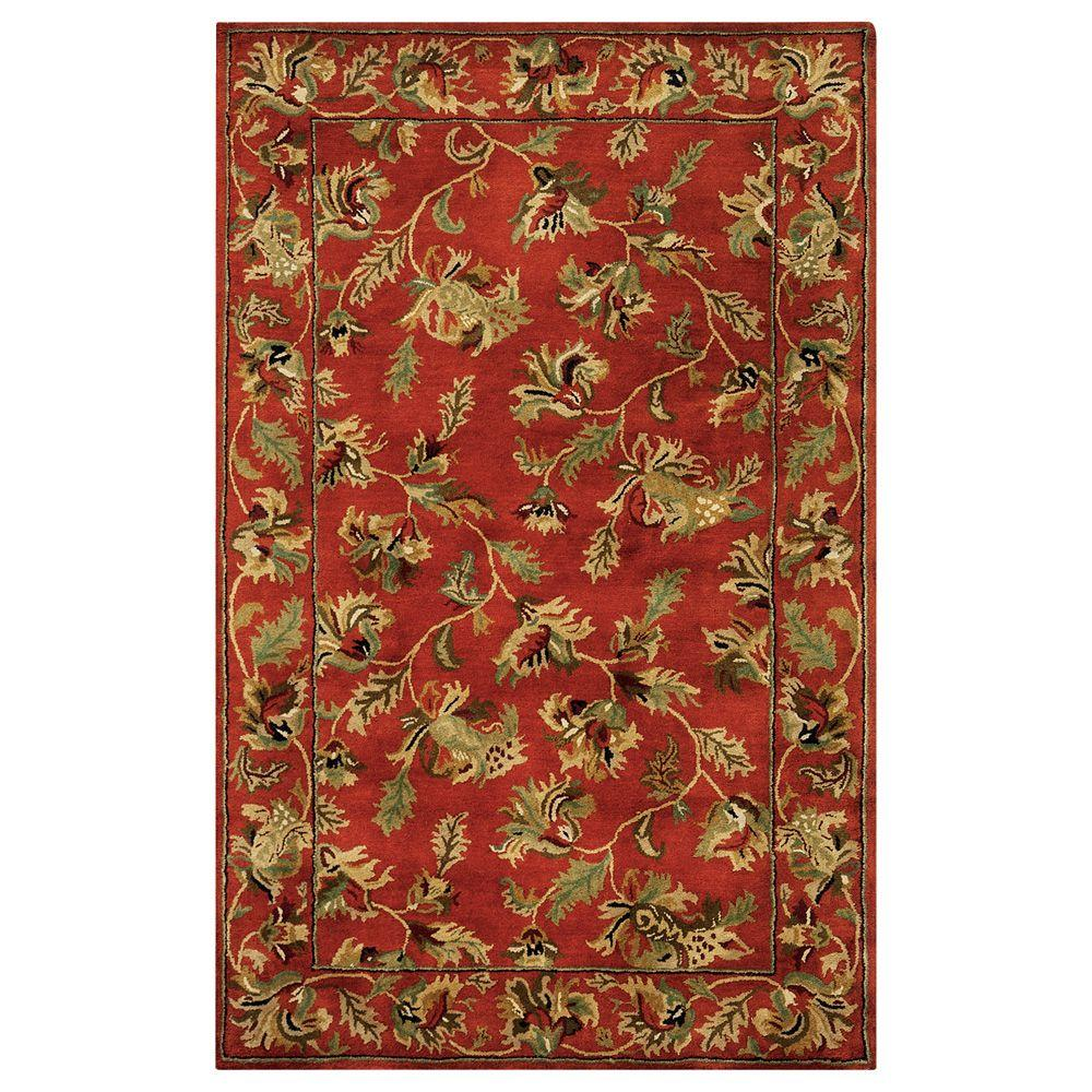 Home Decorators Collection Governor Rust 2 ft. x 3 ft. Accent Rug