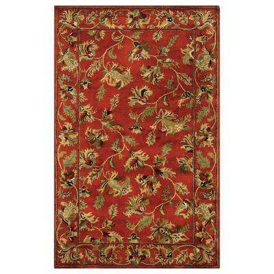 Governor Rust 8 ft. x 11 ft. Area Rug