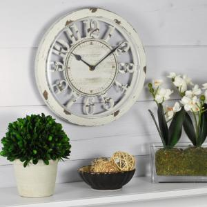 FirsTime 10 inch Antique Contour Wall Clock by FirsTime