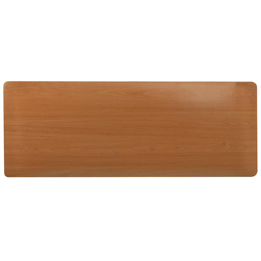 Comfort Style Woodgrain Oak 18 in. x 60 in. Floor Mat