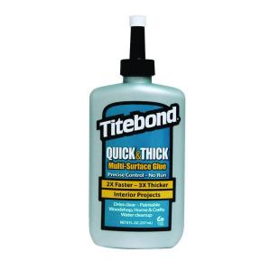 Titebond 8 oz. Quick and Thick Multi-Surface Glue (12-Pack) by Titebond