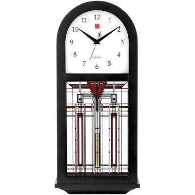 18.5 in. x 7.5 in. Wall Chime Clock