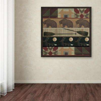 """35 in. x 35 in. """"Cabin Fever"""" by Color Bakery Printed Canvas Wall Art"""