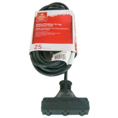 25 ft. 16/3 Tri-Tap Landscape Extension Cord