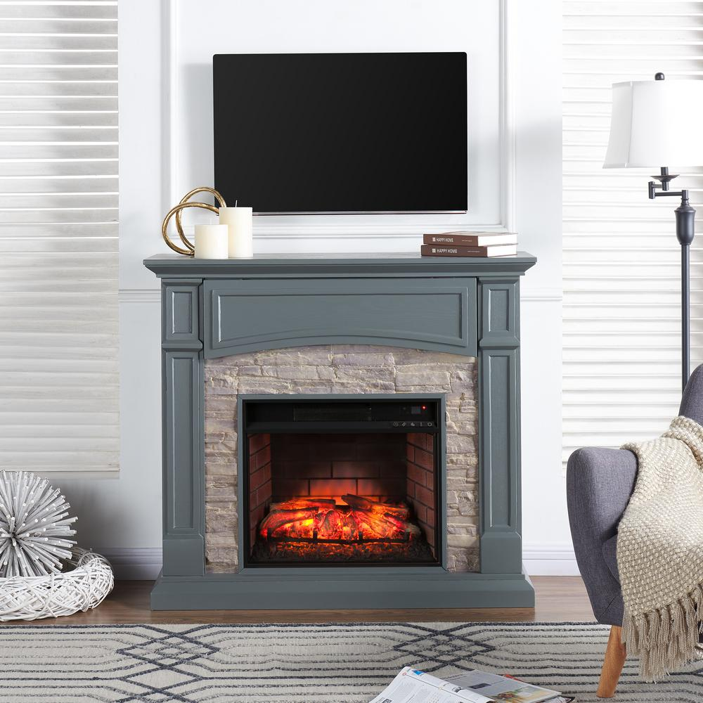 Southern enterprises conway 4575 in w electric media fireplace in southern enterprises conway 4575 in w electric media fireplace in gray teraionfo