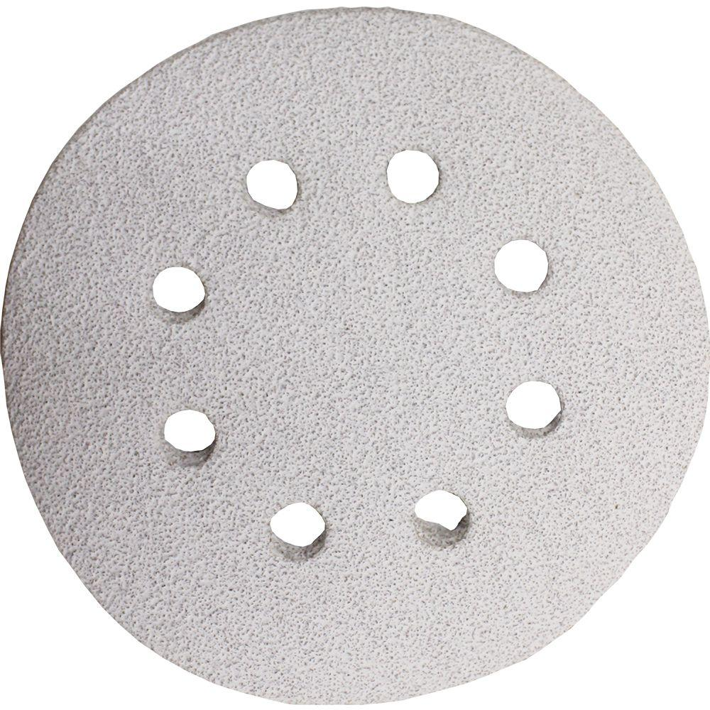 5 in. 120-Grit Hook and Loop Round Abrasive Disc (5-Pack)