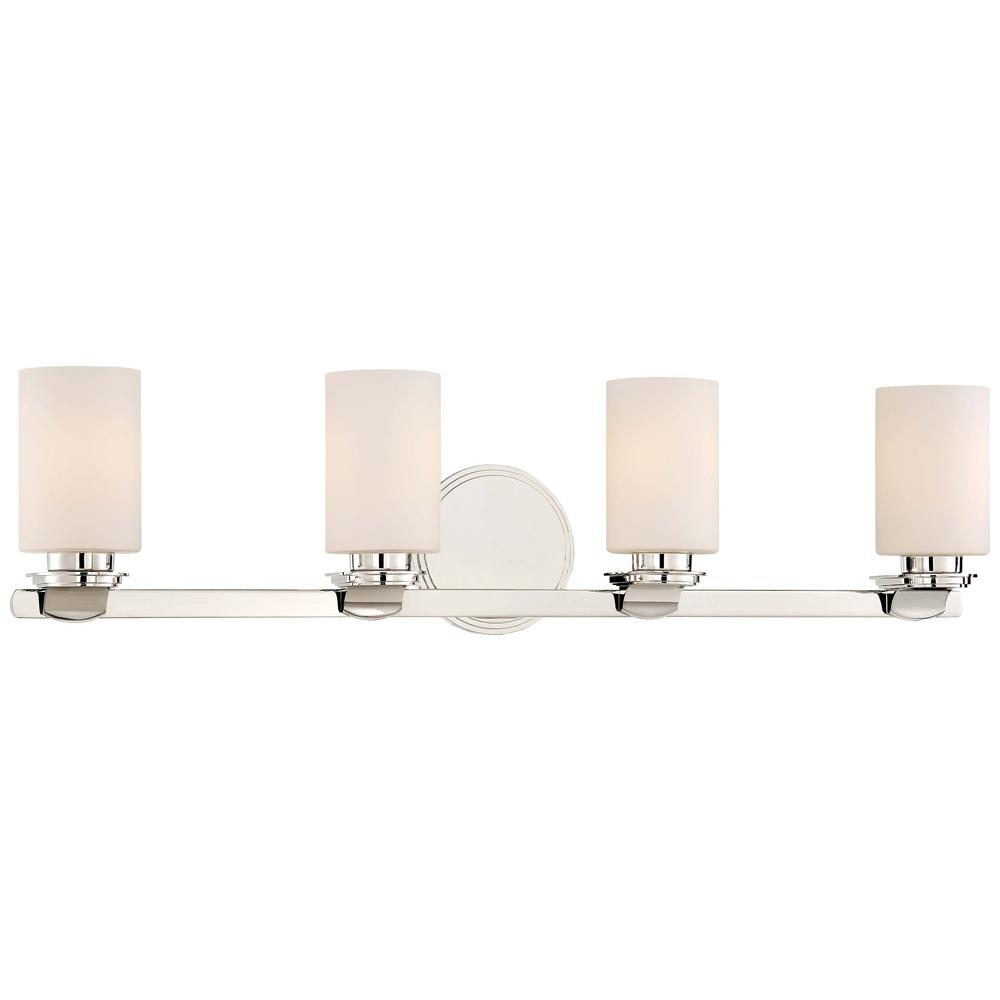 Minka Lavery Arrondir 4 Light Polished Nickel Bath Light