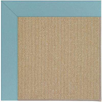 Zoe Sisal Bright Blue 8 ft. x 8 ft. Area Rug
