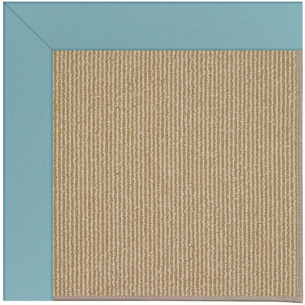 Capel zoe sisal bright blue 8 ft x 10 ft area rug for Bright blue area rug