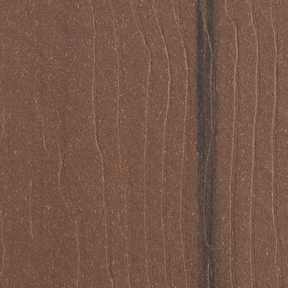 Vantage 5/8 in. x 11-1/4 in. x 12 ft. Walnut Fascia Composite Decking Board (4-Pack)