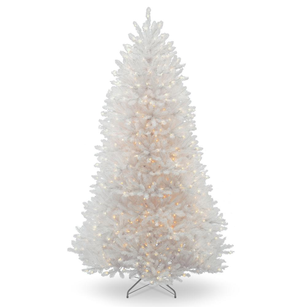 White Fir Christmas Tree: National Tree Company 9 Ft. Dunhill White Fir Tree With