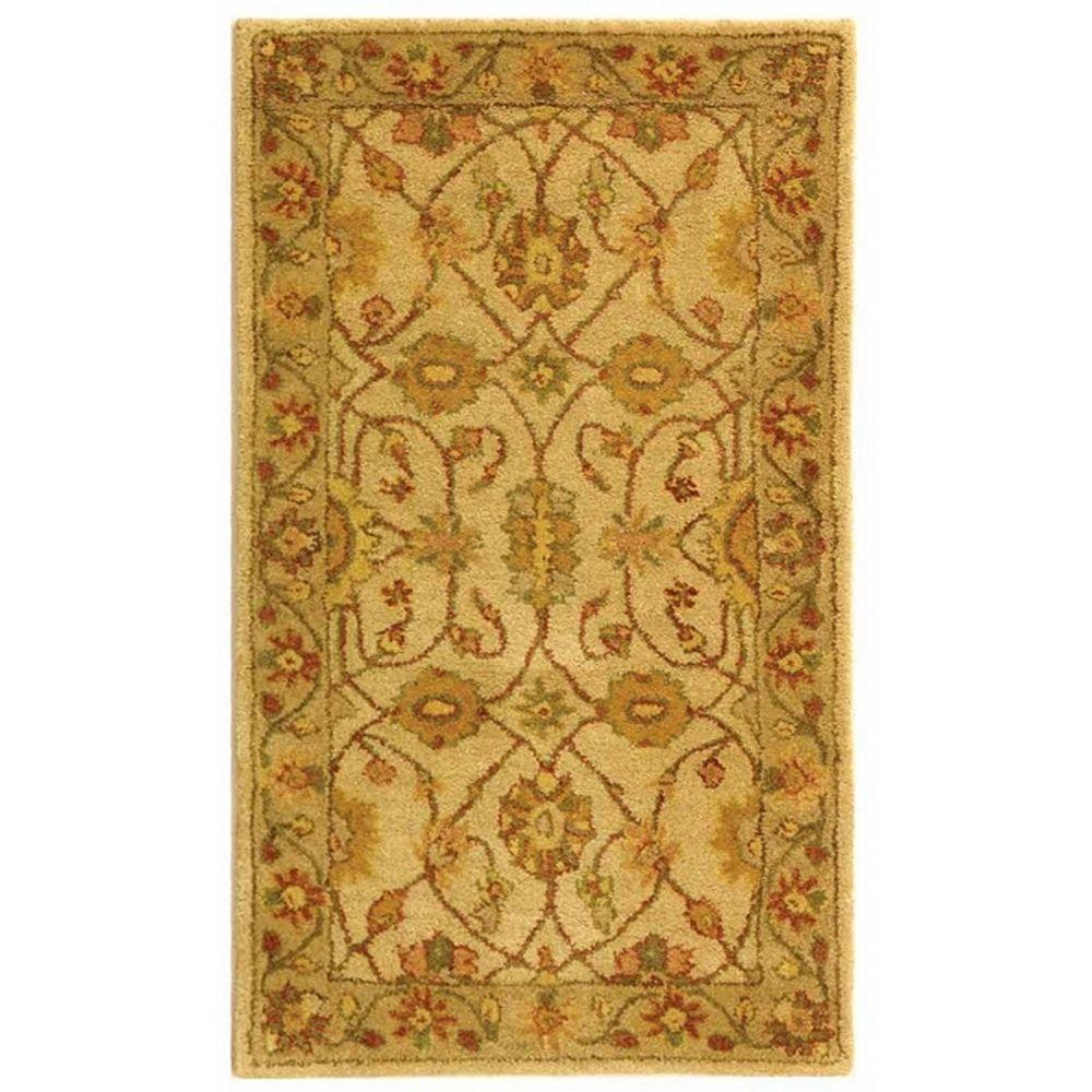 Antiquity Ivory/Light Green 2 ft. 3 in. x 4 ft. Area Rug