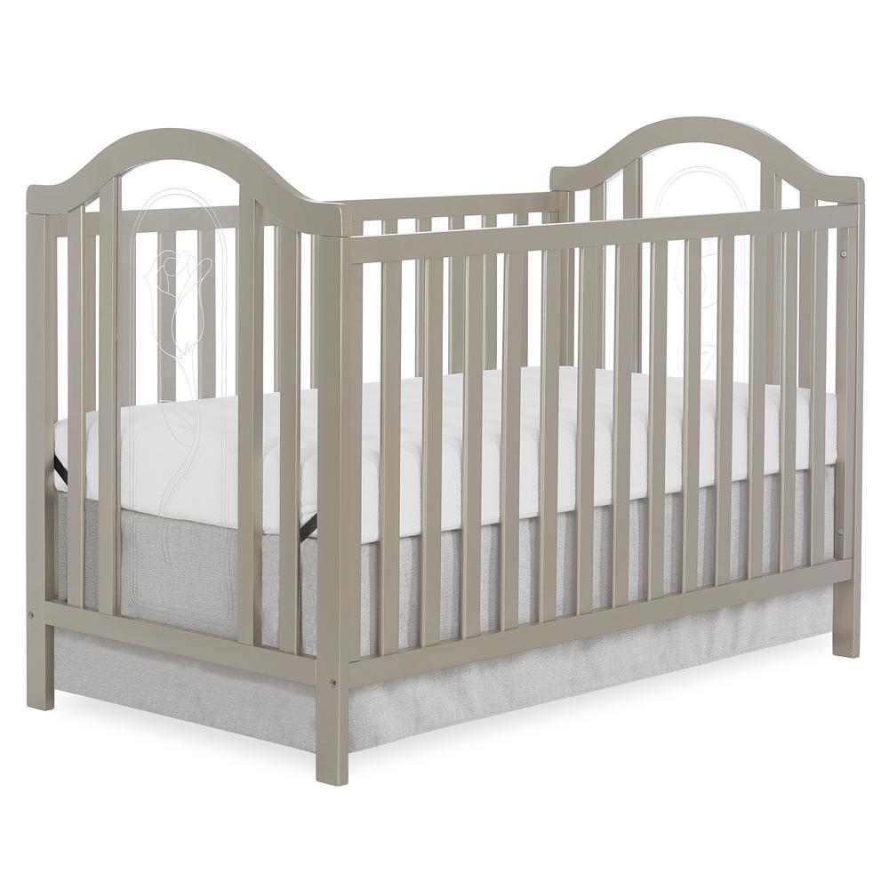 Slumber Baby Ariel Gold Dust Convertible Crib 762 Gd The Home Depot