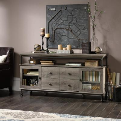 Canal Street Northern Oak 60 in. Entertainment Center