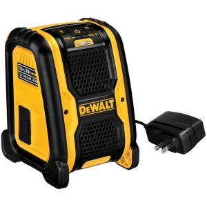 Dewalt 20 Volt 12 Volt Max Bluetooth Speaker Dcr006 The