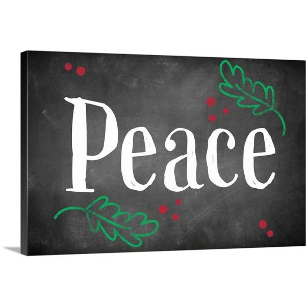 GreatBigCanvas ''Peace'' by Inner Circle Canvas Wall Art 2452653_24_24x16