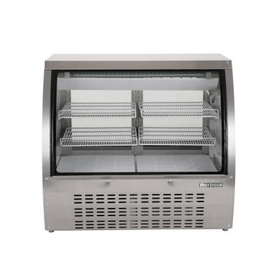 48 in. W 18 cu. ft. Commercial Specialty Refrigerated Deli Case, in Stainless