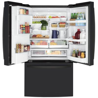 22.1 cu. ft. French Door Refrigerator in Black Slate, Fingerprint Resistant, Counter Depth and ENERGY STAR