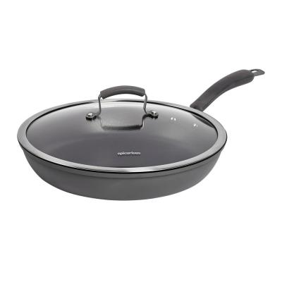 Hard Anodized Fry Pan and Lid