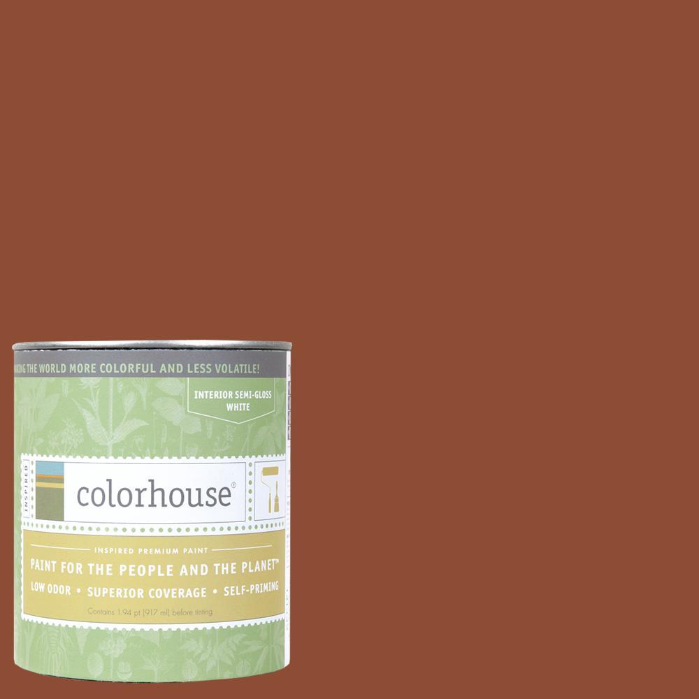 1 qt. Clay .04 Semi-Gloss Interior Paint