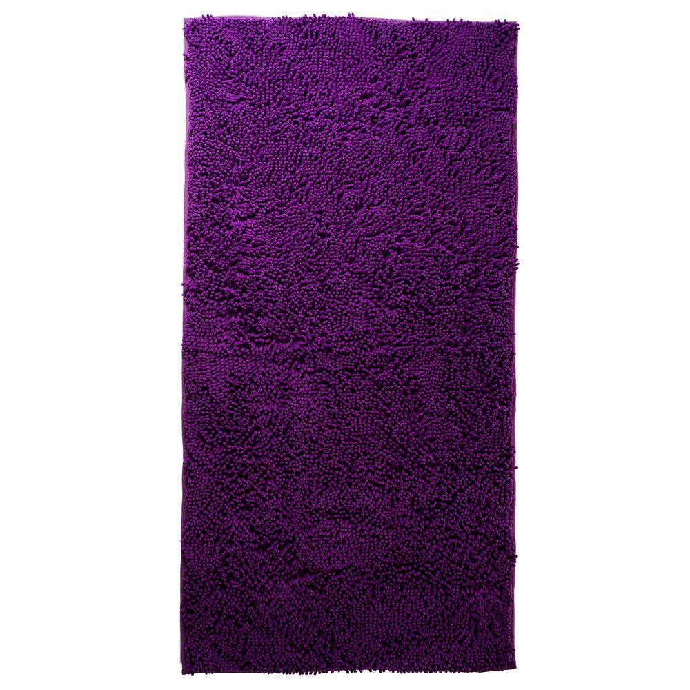 Purple Rug 2 Ft: Lavish Home Purple 3 Ft. X 5 Ft. Area Rug-67-13-PU