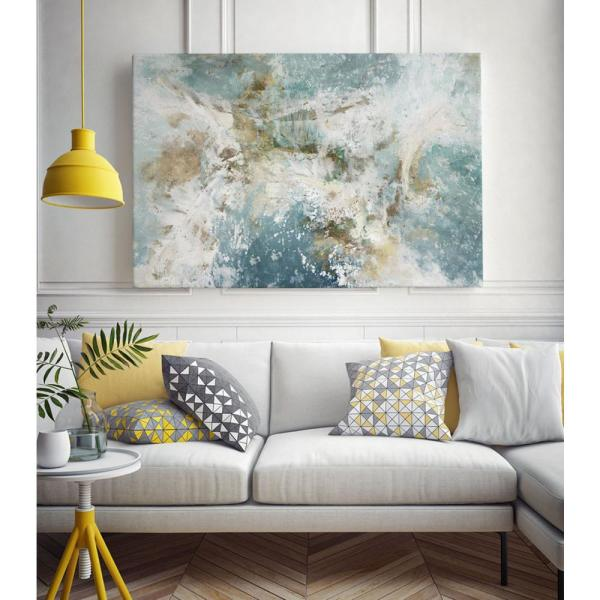 Clicart 14 In X 11 In Waking Hour By Elle Jacobs Wall Art Pilj001 1411mm The Home Depot