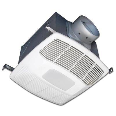 ENERGY STAR® Certified Ultra Quiet 120 CFM Ceiling Bathroom Exhaust Fan with LED Light
