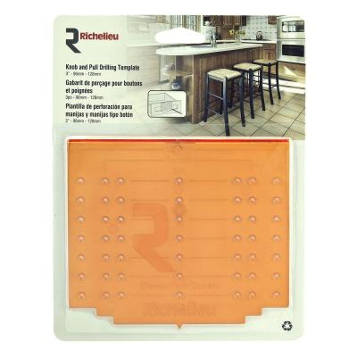 Cabinet Hardware Drawer Template