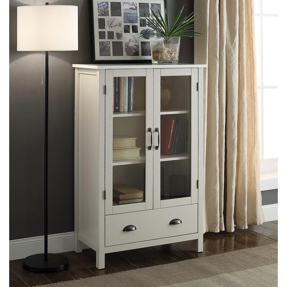 Olivia White Storage Pantry