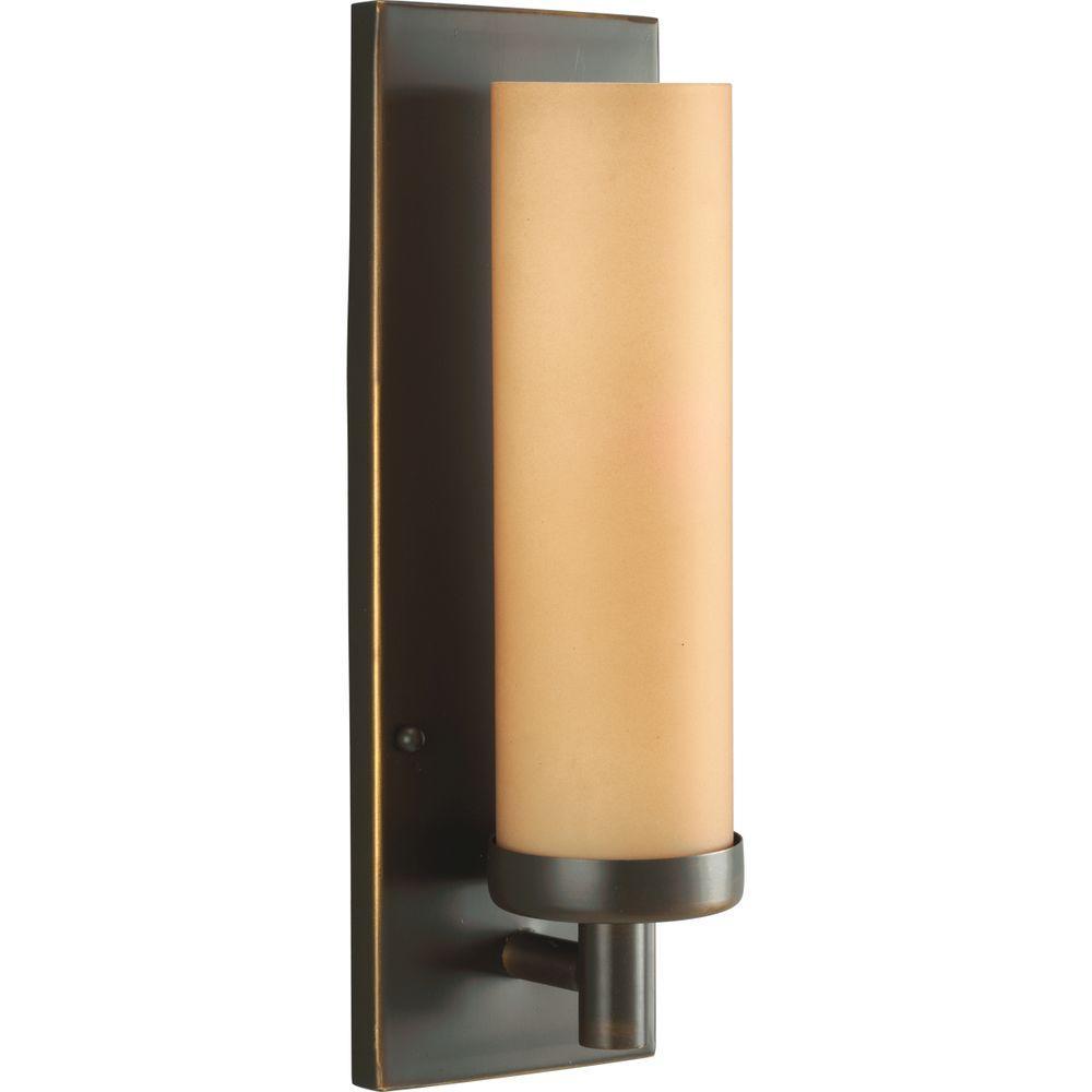 Progress Lighting Antique Bronze 1-light Wall Sconce-DISCONTINUED