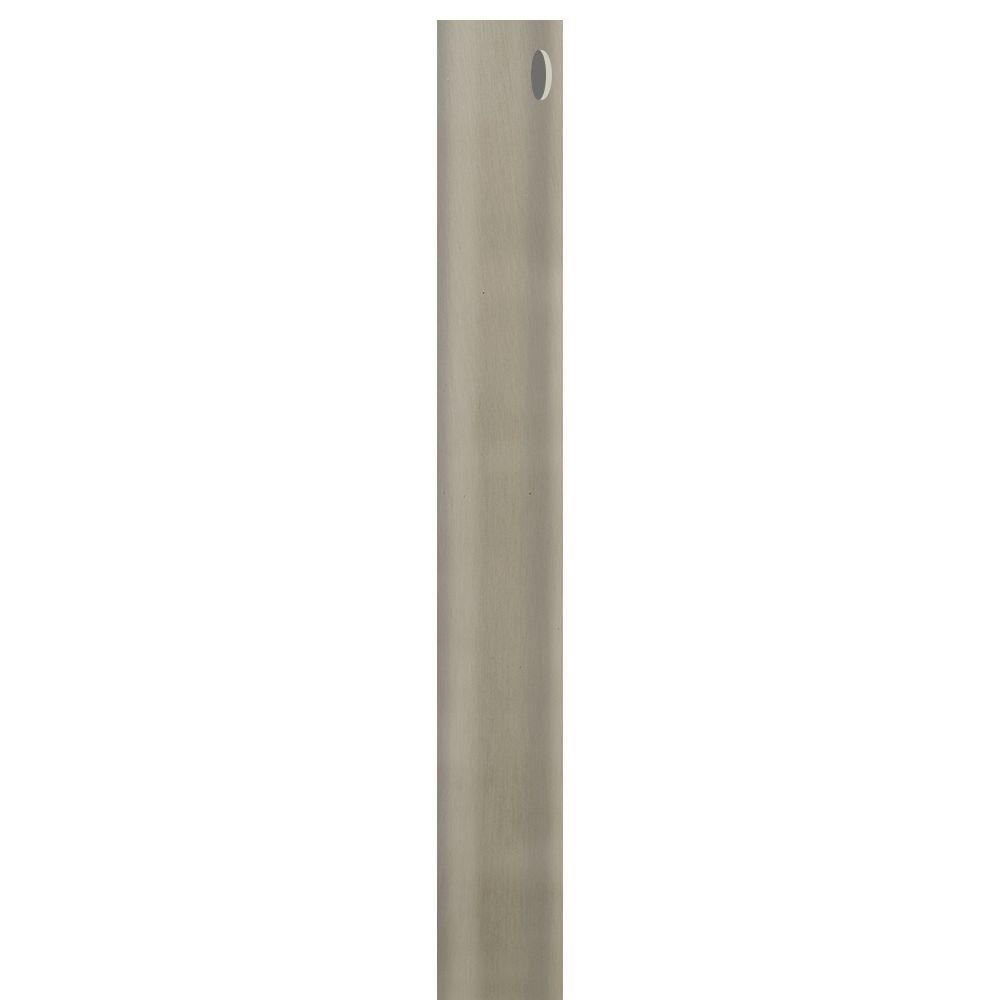 AirPro 60 in. Brushed Nickel Extension Downrod