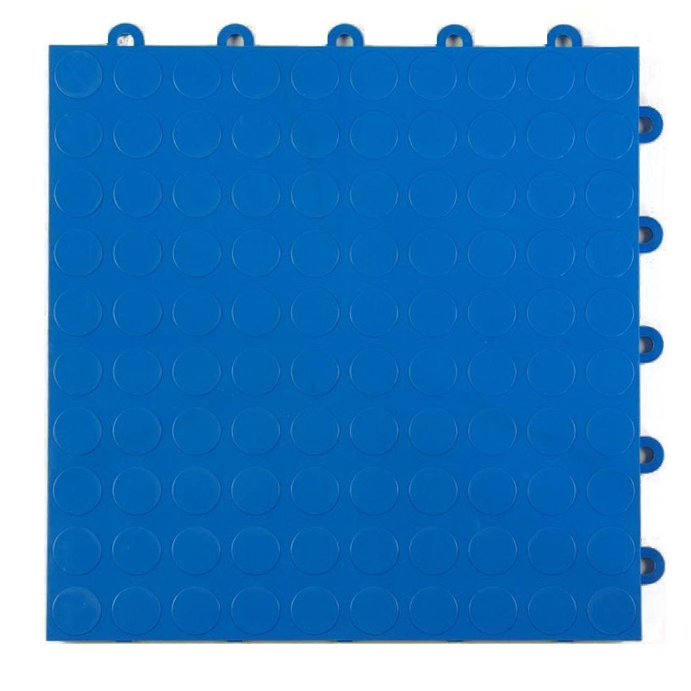 Greatmats coin top 1 ft x 1 ft x 58 in blue polypropylene greatmats coin top 1 ft x 1 ft x 58 in blue polypropylene interlocking garage floor tile case of 24 gftbestcoinblu24 the home depot dailygadgetfo Image collections