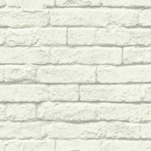 Magnolia Home by Joanna Gaines 56 sq. ft. Brick-and-Mortar Removable Wallpaper by Magnolia Home by Joanna Gaines