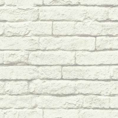Concrete Paper Strippable Roll Wallpaper (Covers 56 sq. ft.)