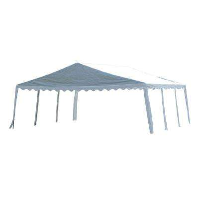 20 ft. x 20 ft. White Party Tent