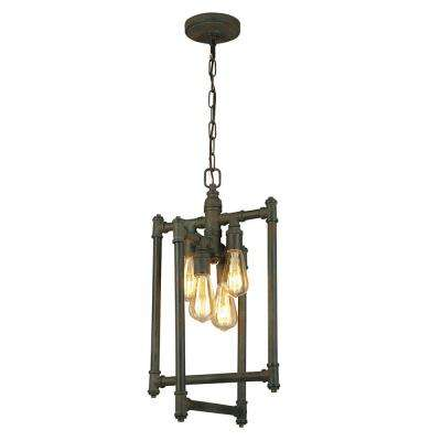 Wymer 4-Light Zinc Chandelier