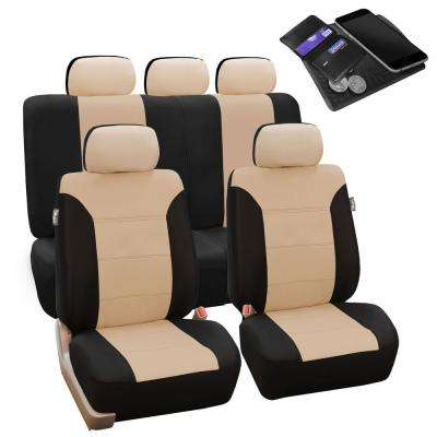 Beige Car Seat Covers Interior Car Accessories The Home Depot