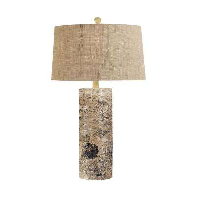 30 in. Aspen Bark Table Lamp