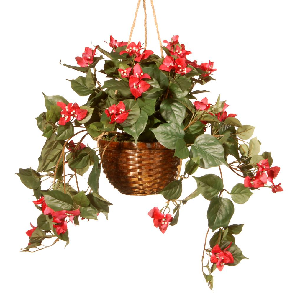 National tree company 13 in hanging flower in pot ras hb88854 a hanging flower in pot mightylinksfo