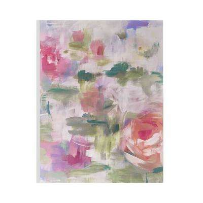 "24 in. x 32 in. ""Abstract Blossoms"" Printed Wall Art"