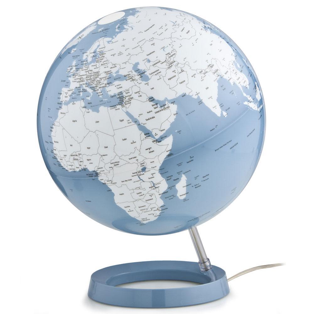 Light and Color 12 in. Blue Designer Series Desktop Globe