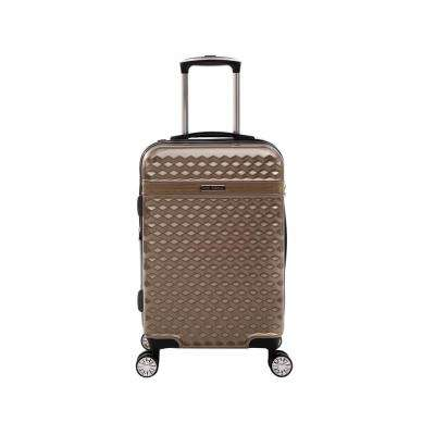 Audrey 22 in. Tan Hardside Spinner Luggage