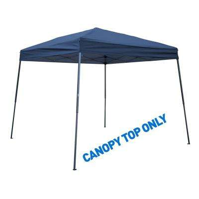 8 ft. x 8 ft. Blue Square Replacement Canopy Gazebo Top for 10 ft. Slant Leg Canopy