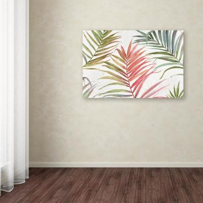 "22 in. x 32 in. ""Tropical Blush IV"" by Lisa Audit Printed Canvas Wall Art"