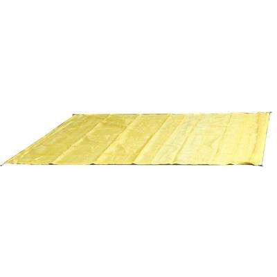 10 ft. W x 10 ft. D Yellow Quadrilateral Sun Shade Sail