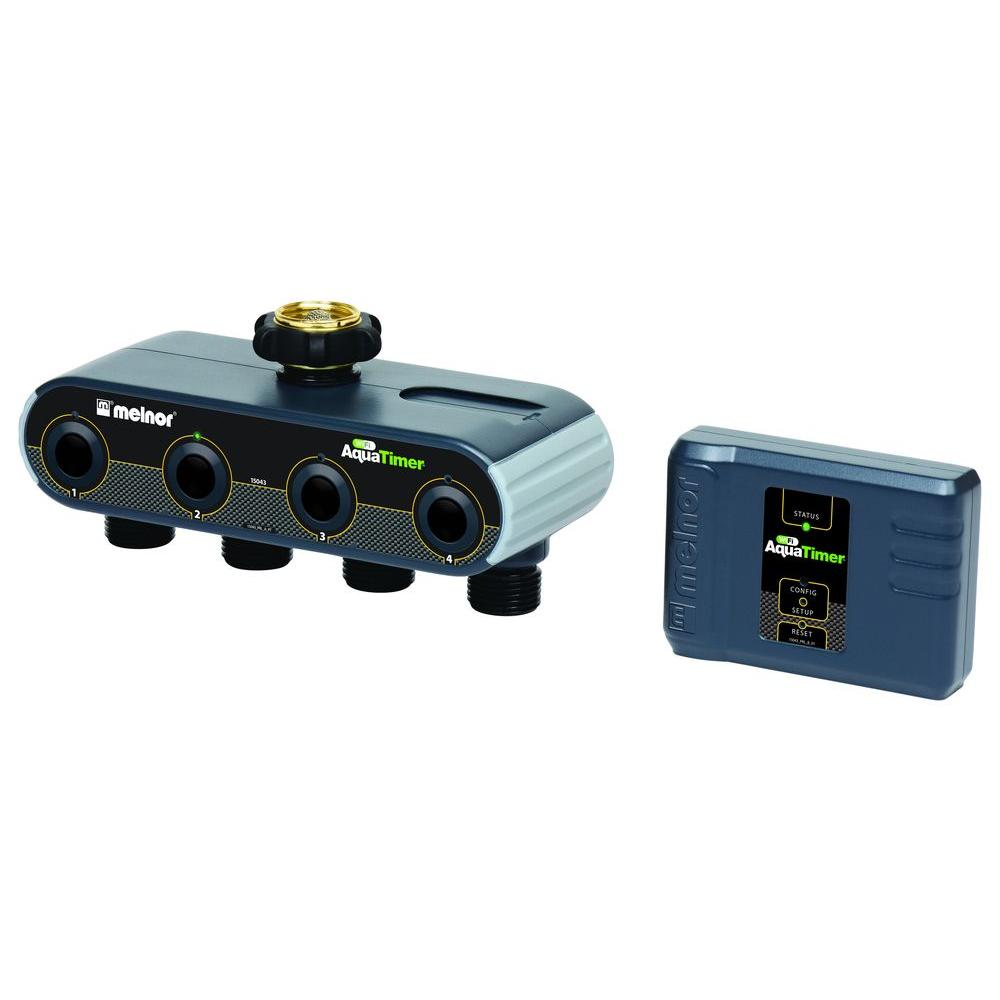 Melnor Wi-Fi AquaTimer Smart Water Timer  sc 1 st  Home Depot & Melnor Wi-Fi AquaTimer Smart Water Timer-15043-HD - The Home Depot