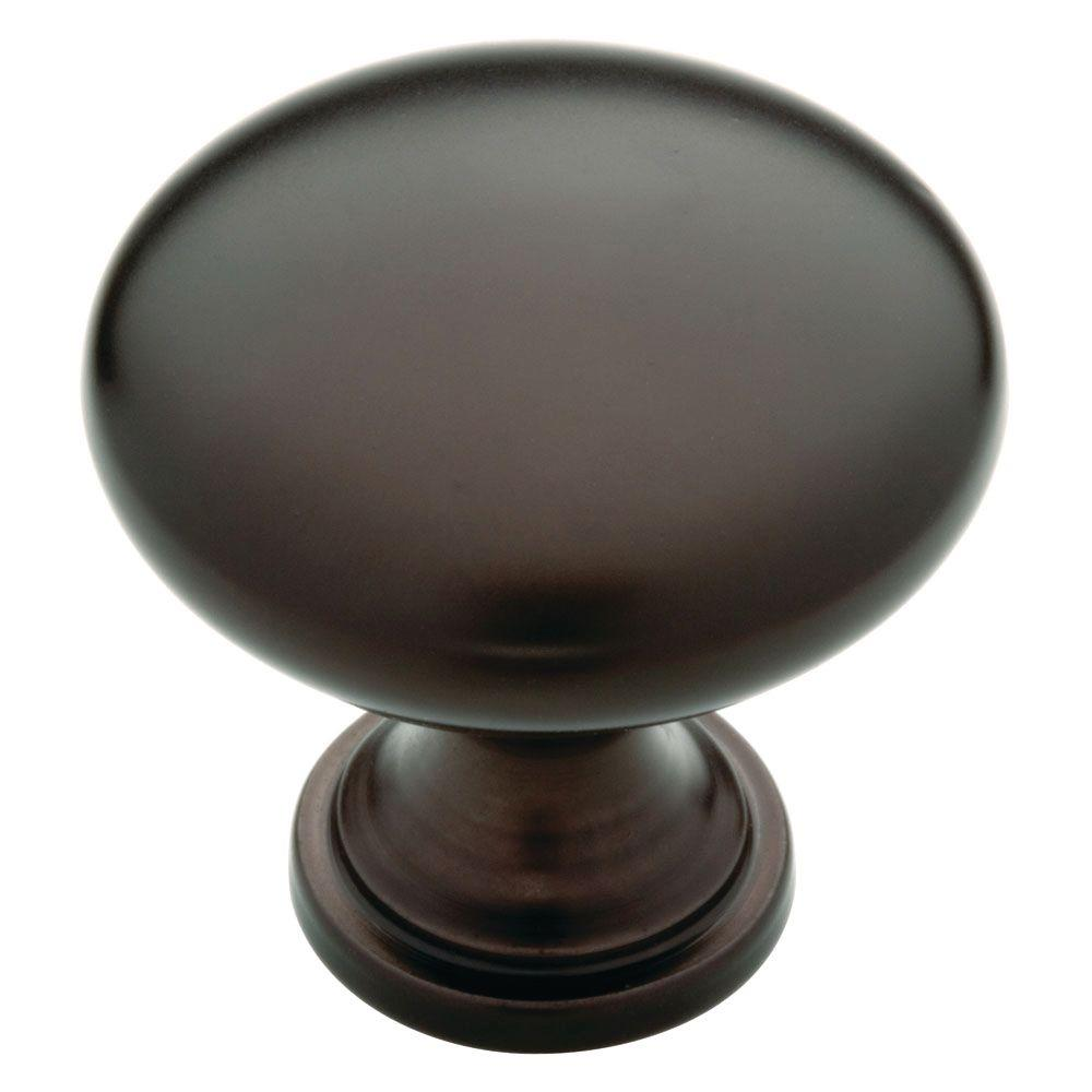 Liberty 1-1/4 In. Dark Oil Rubbed Bronze Hollow Cabinet