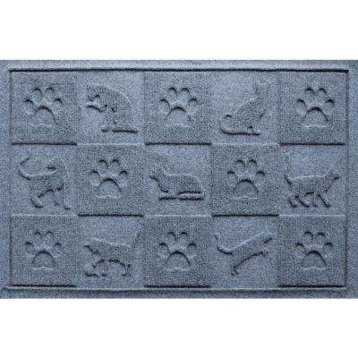 Bluestone 24 in. x 36 in. Cat in the Mat Pet Mat