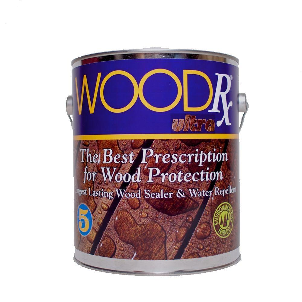 WoodRx 1 gal. Ultra Redwood Wood Stain and Sealer